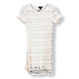 Forever 21 Ivory Lace Shift Dress NWT
